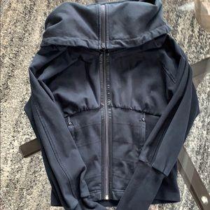 Lululemon Black Jacket Size 6.